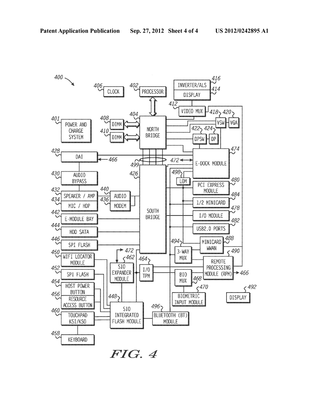 System and Method for Managing Multiple Independent Graphic Sources in an     Information Handling System - diagram, schematic, and image 05