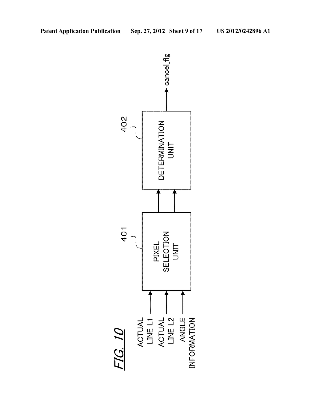 VIDEO IMAGE PROCESSING APPARATUS AND VIDEO IMAGE PROCESSING METHOD - diagram, schematic, and image 10
