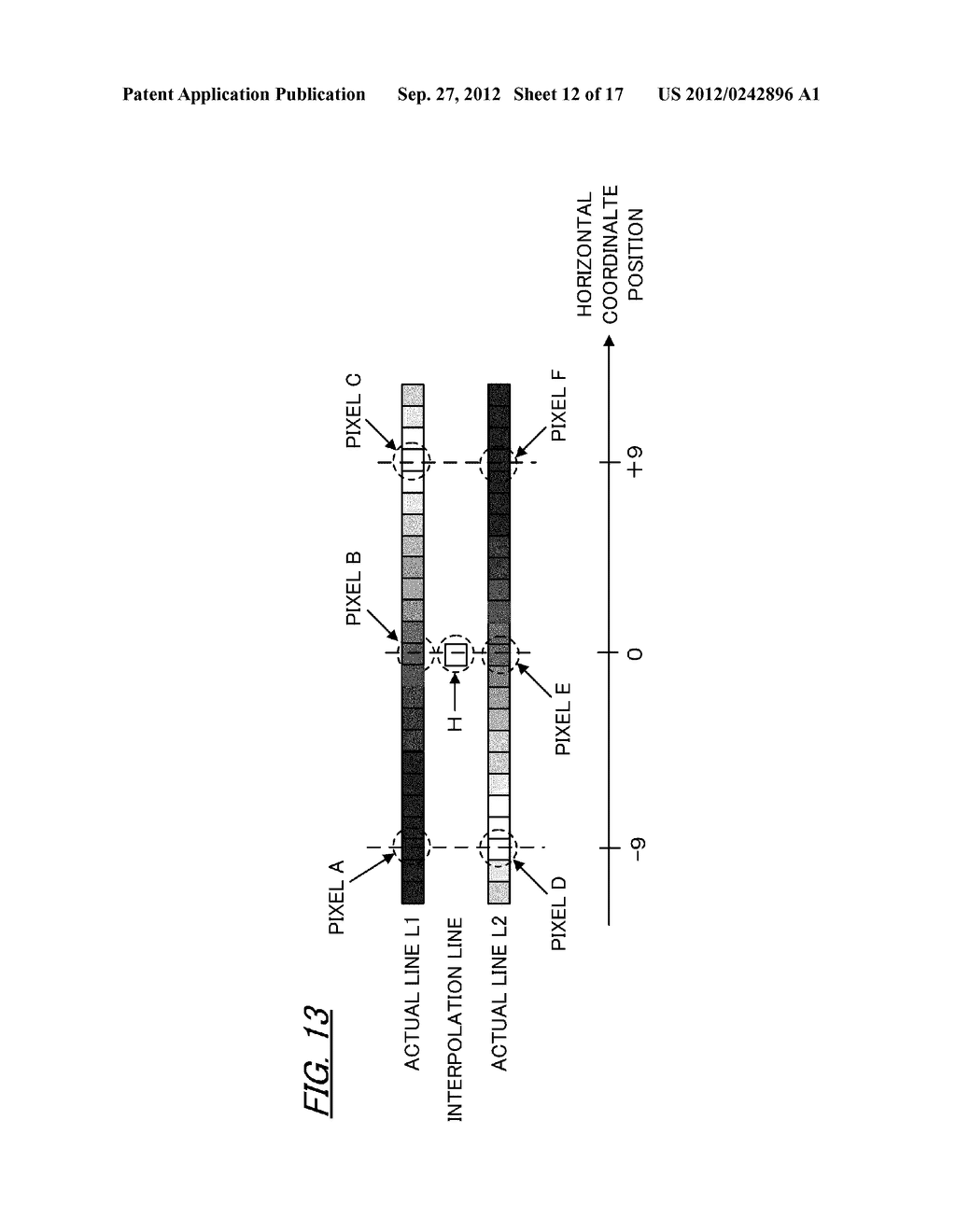 VIDEO IMAGE PROCESSING APPARATUS AND VIDEO IMAGE PROCESSING METHOD - diagram, schematic, and image 13