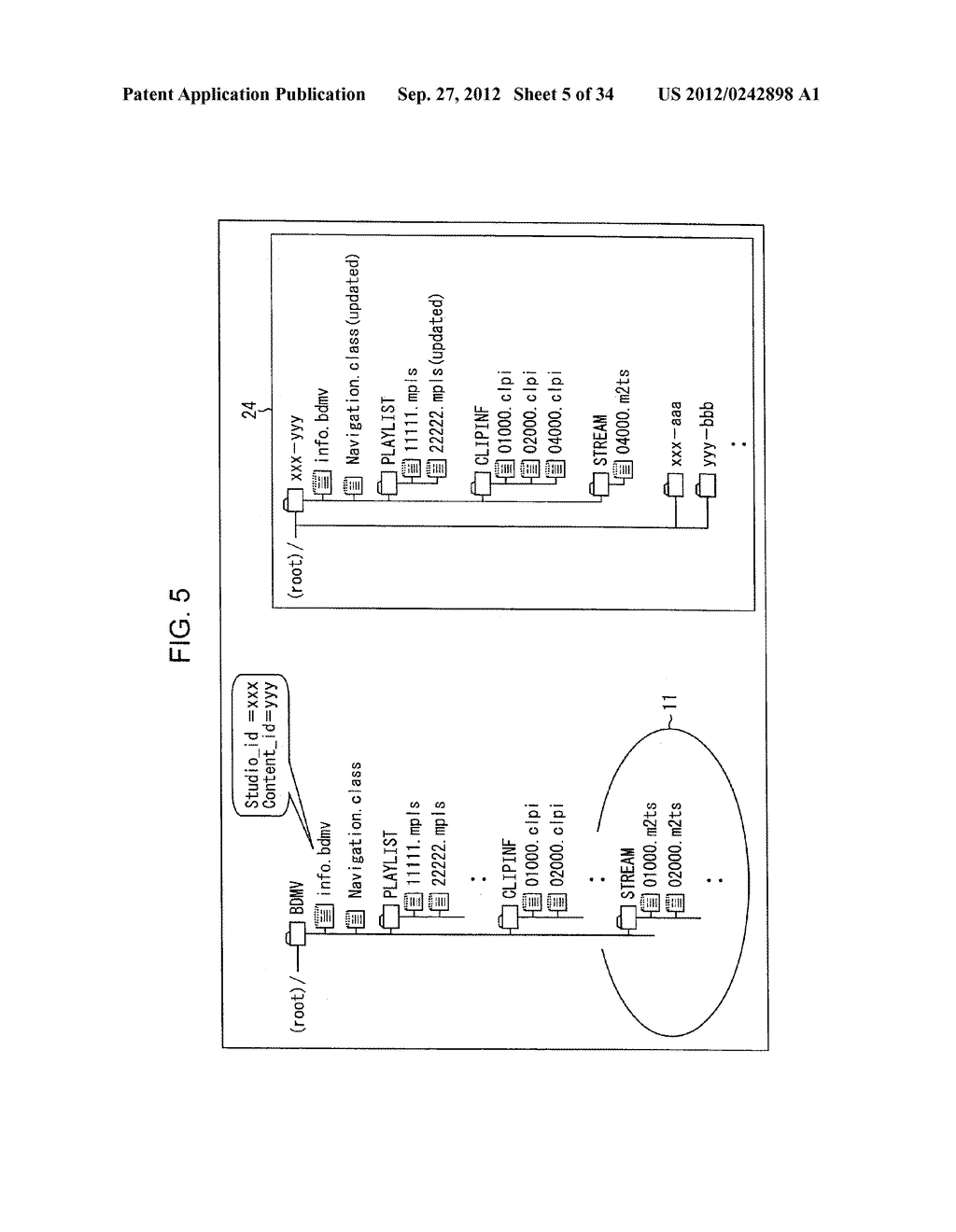 INFORMATION PROCESSING DEVICE AND INFORMATION PROCESSING METHOD, PROGRAM     STORAGE MEDIUM, PROGRAM, DATA STRUCTURE, AND MANUFACTURING METHOD FOR     STORAGE MEDIUM - diagram, schematic, and image 06