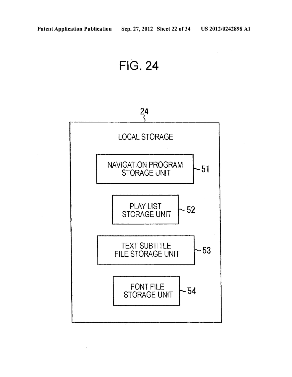 INFORMATION PROCESSING DEVICE AND INFORMATION PROCESSING METHOD, PROGRAM     STORAGE MEDIUM, PROGRAM, DATA STRUCTURE, AND MANUFACTURING METHOD FOR     STORAGE MEDIUM - diagram, schematic, and image 23