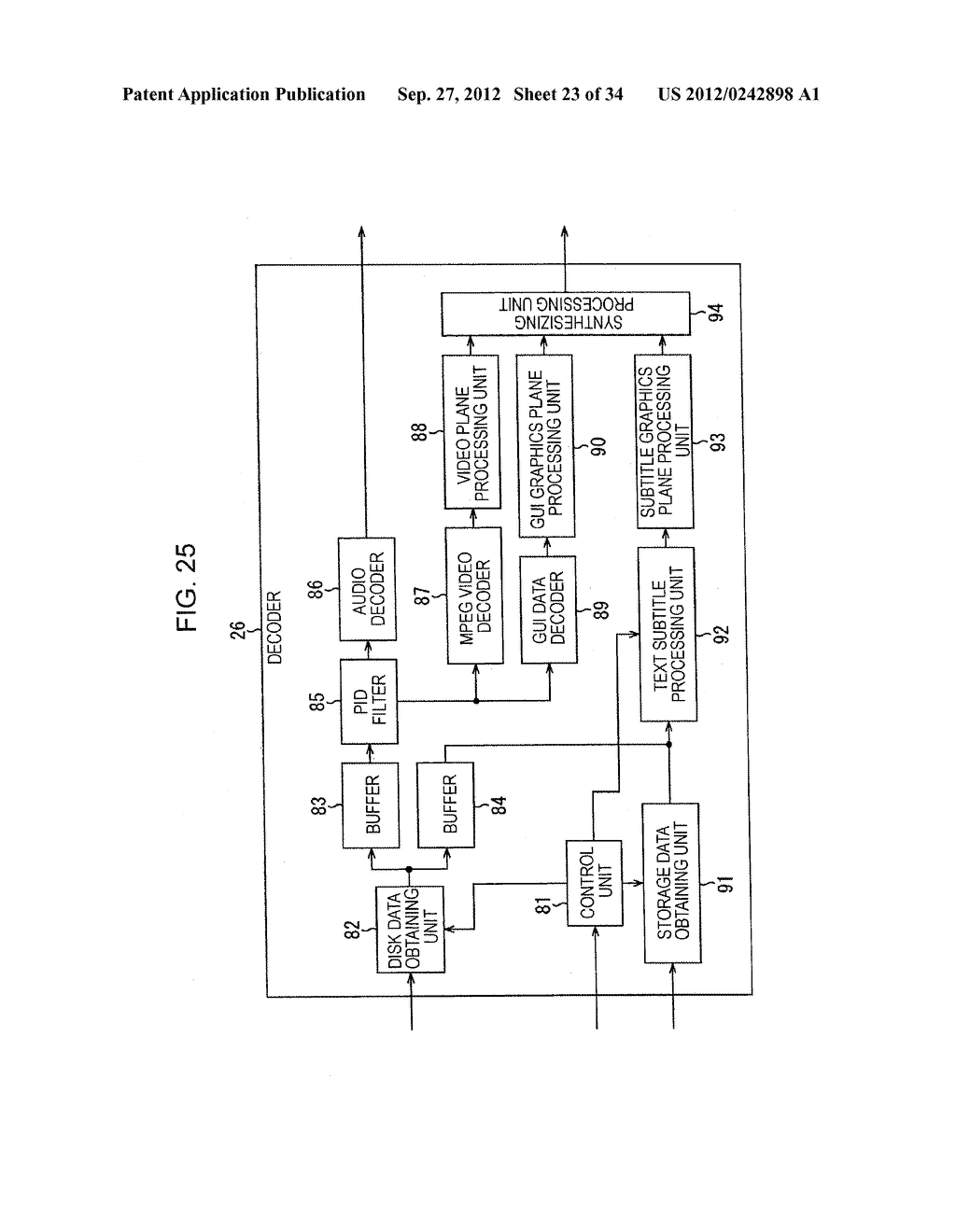 INFORMATION PROCESSING DEVICE AND INFORMATION PROCESSING METHOD, PROGRAM     STORAGE MEDIUM, PROGRAM, DATA STRUCTURE, AND MANUFACTURING METHOD FOR     STORAGE MEDIUM - diagram, schematic, and image 24