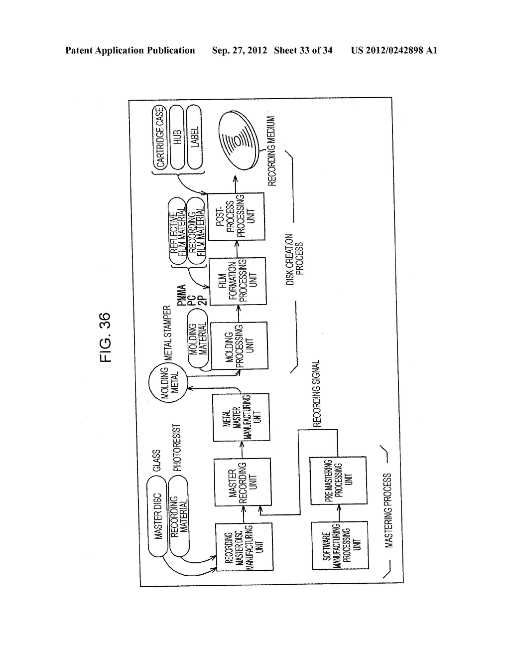 INFORMATION PROCESSING DEVICE AND INFORMATION PROCESSING METHOD, PROGRAM     STORAGE MEDIUM, PROGRAM, DATA STRUCTURE, AND MANUFACTURING METHOD FOR     STORAGE MEDIUM - diagram, schematic, and image 34