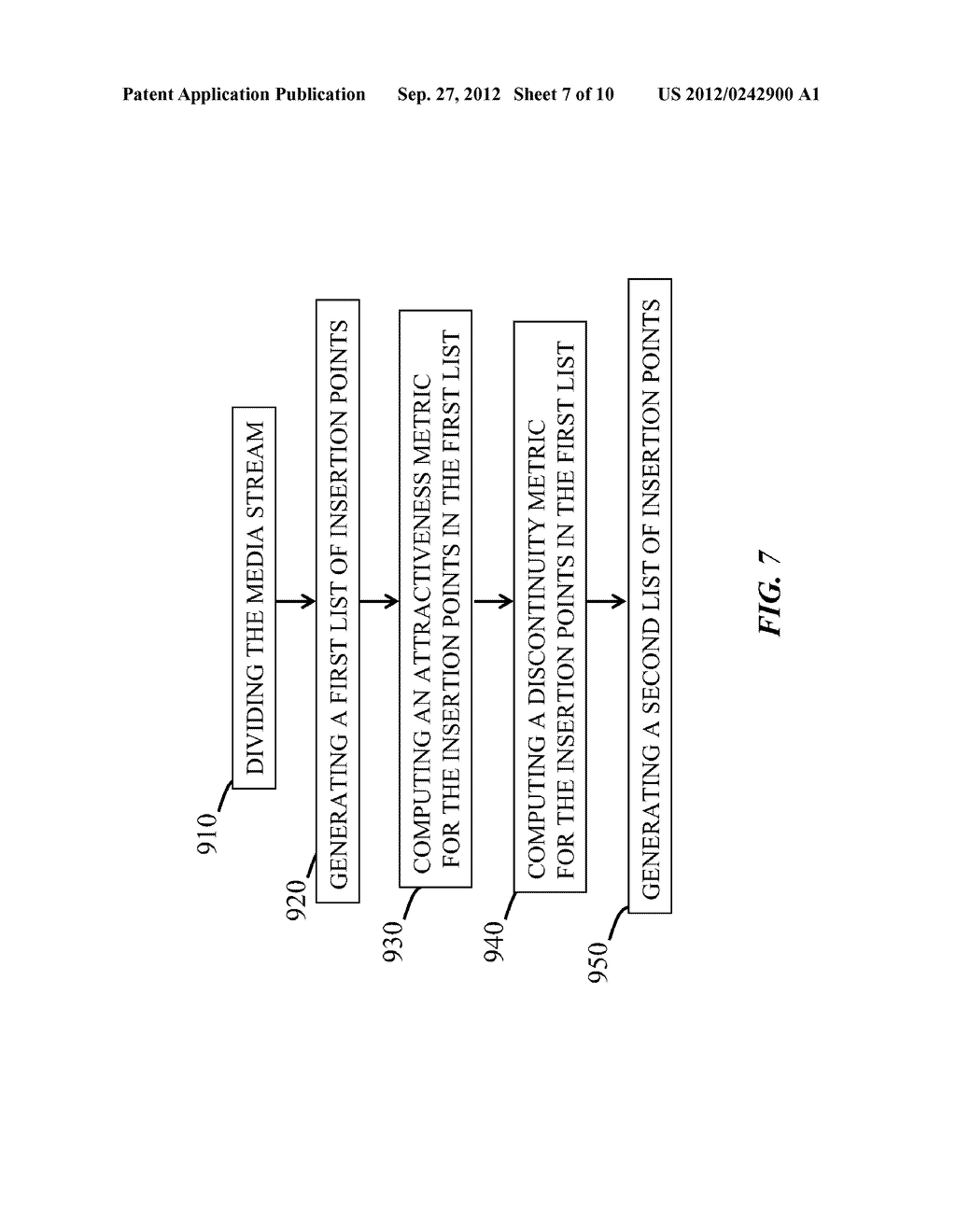 Media Processing Devices For Detecting and Ranking Insertion Points In     Media, And Methods Thereof - diagram, schematic, and image 08
