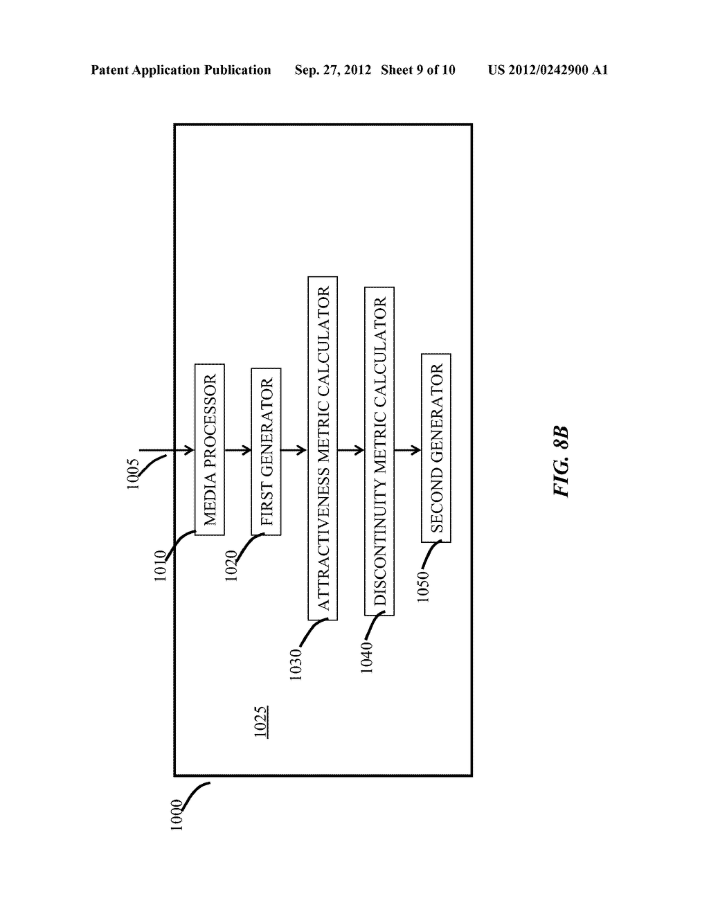 Media Processing Devices For Detecting and Ranking Insertion Points In     Media, And Methods Thereof - diagram, schematic, and image 10