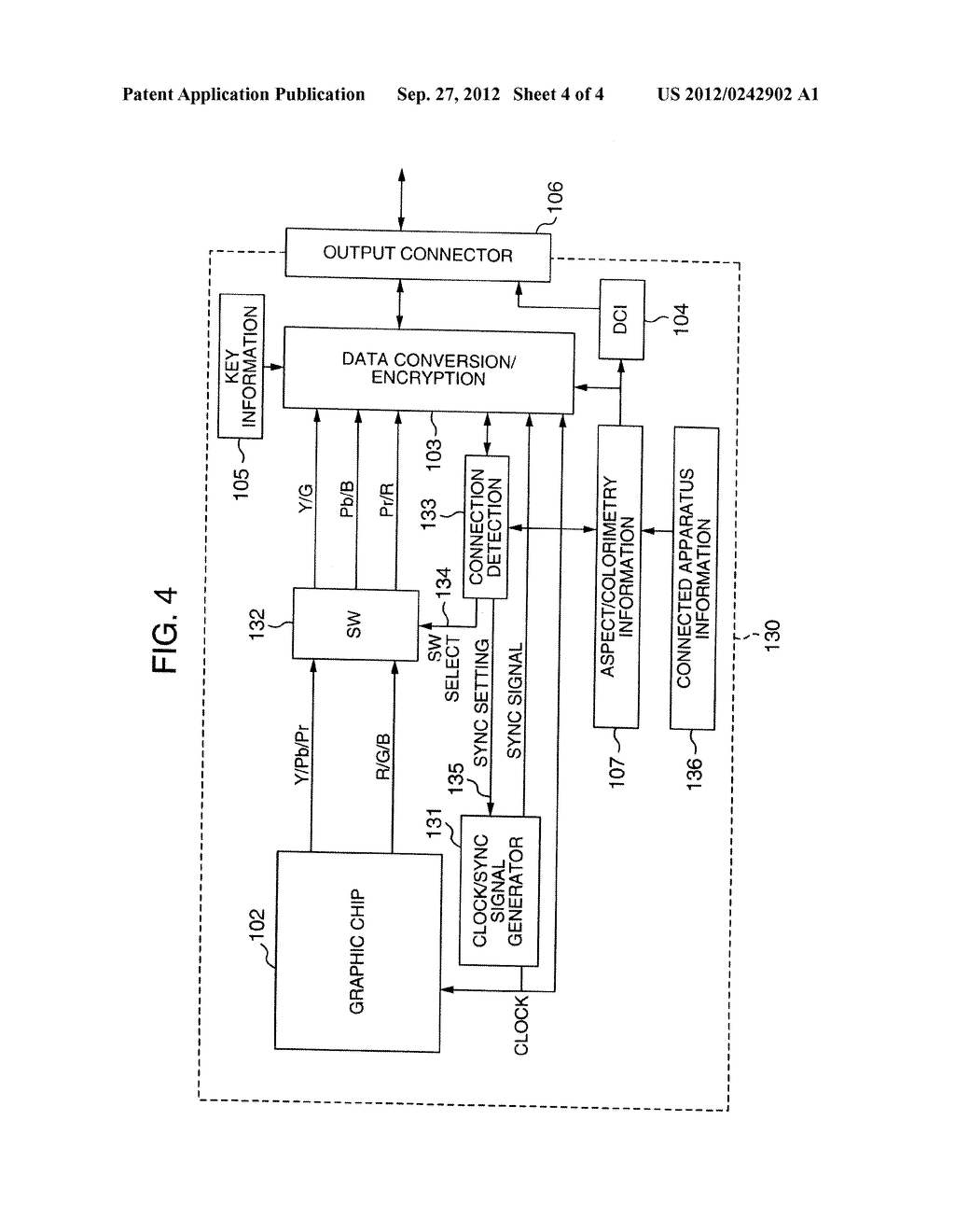 VIDEO SIGNAL TRANSMITTING APPARATUS AND VIDEO SIGNAL RECEIVING APPARATUS - diagram, schematic, and image 05