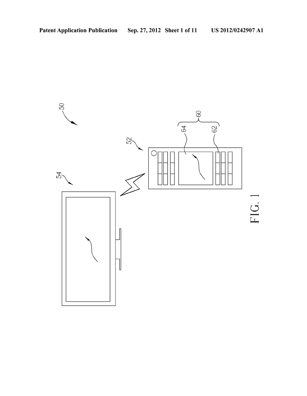 REMOTE CONTROL SYSTEM AND METHOD CAPABLE OF SWITCHING DIFFERENT POINTING     MODES - diagram, schematic, and image 02