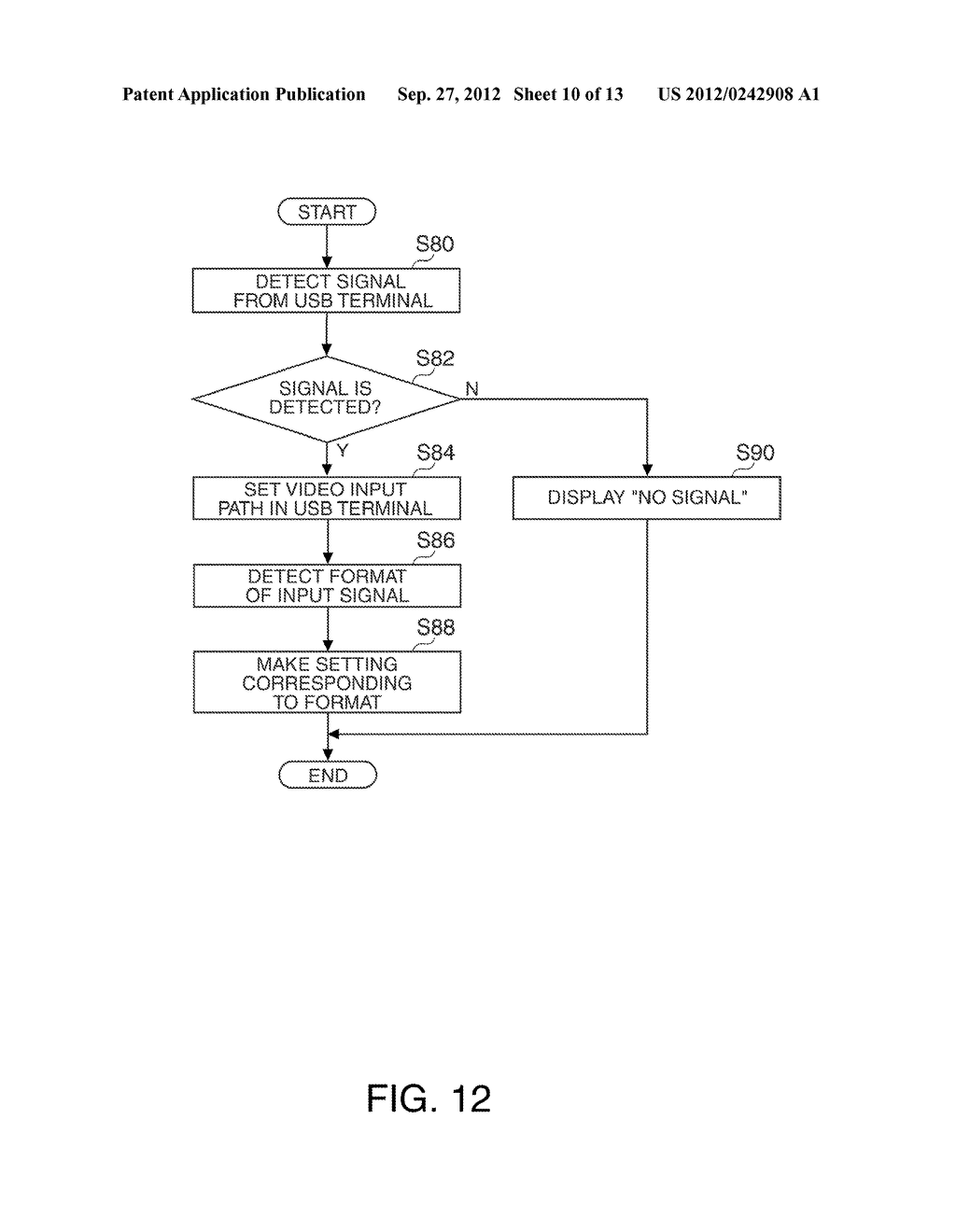 PROJECTOR AND METHOD FOR CONTROLLING THE PROJECTOR - diagram, schematic, and image 11