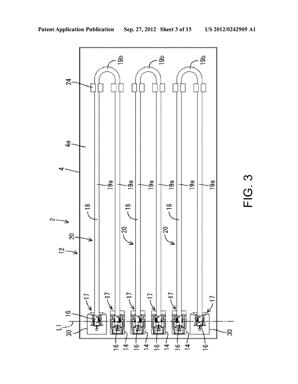 ILLUMINATING DEVICE, DISPLAY DEVICE, AND TELEVISION RECEIVER - diagram, schematic, and image 04