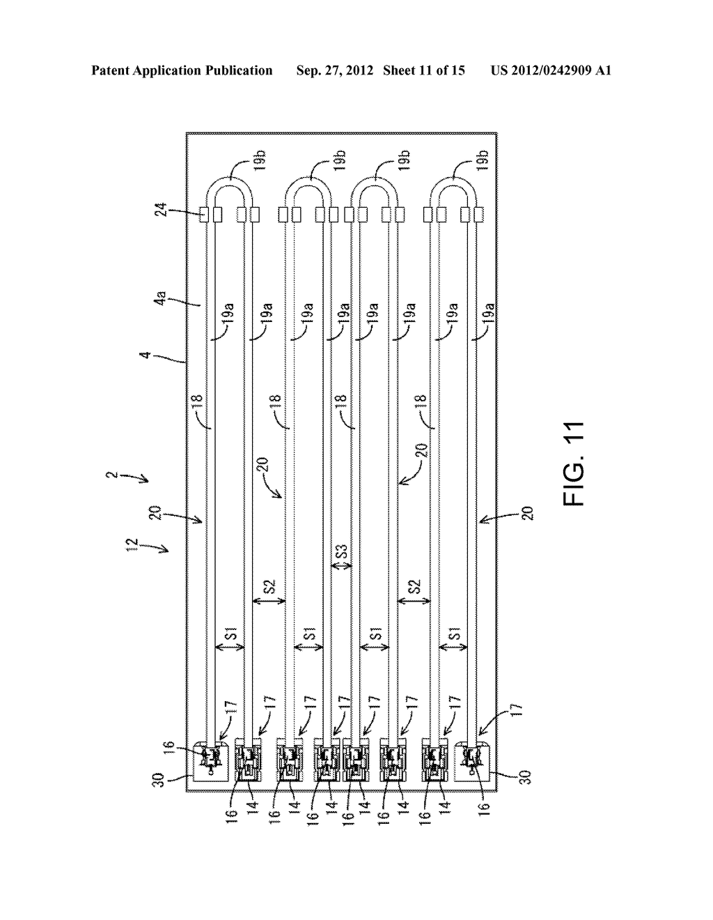 ILLUMINATING DEVICE, DISPLAY DEVICE, AND TELEVISION RECEIVER - diagram, schematic, and image 12
