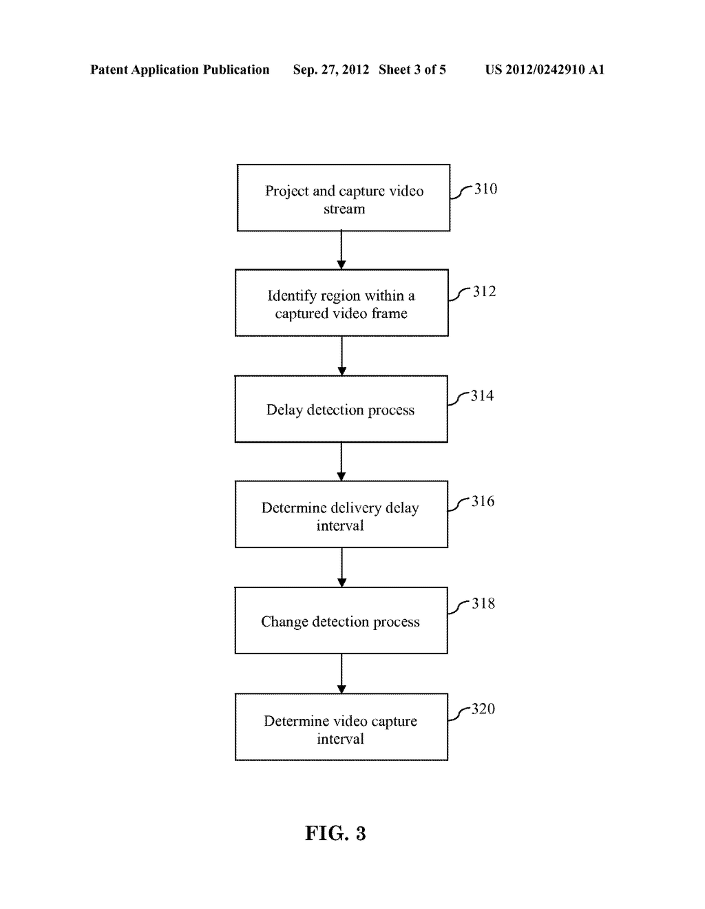 Method For Determining A Video Capture Interval For A Calibration Process     In A Multi-Projector Display System - diagram, schematic, and image 04
