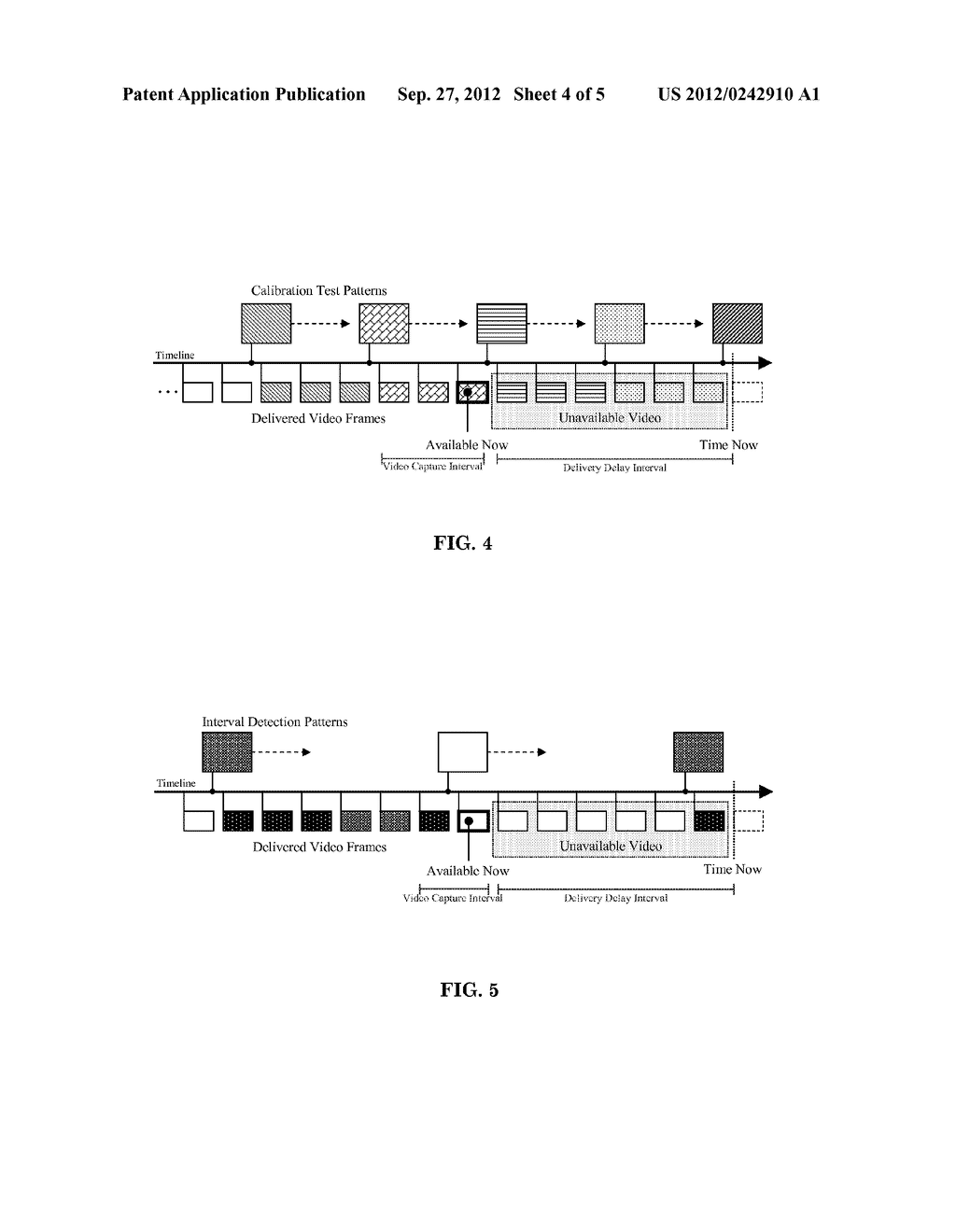 Method For Determining A Video Capture Interval For A Calibration Process     In A Multi-Projector Display System - diagram, schematic, and image 05