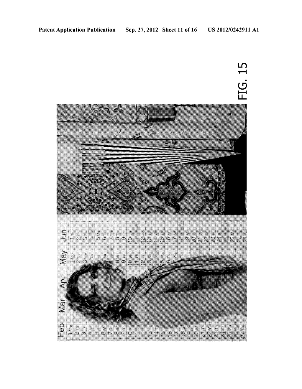 IMAGE PROJECTION APPARATUS AND METHOD - diagram, schematic, and image 12