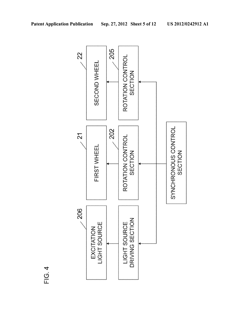 LIGHT SOURCE APPARATUS AND IMAGE DISPLAY APPARATUS USING THE SAME - diagram, schematic, and image 06