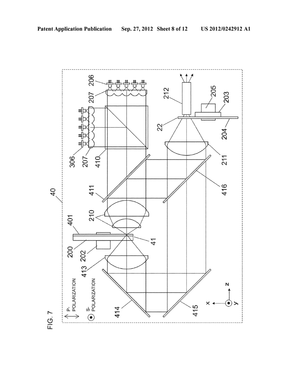 LIGHT SOURCE APPARATUS AND IMAGE DISPLAY APPARATUS USING THE SAME - diagram, schematic, and image 09