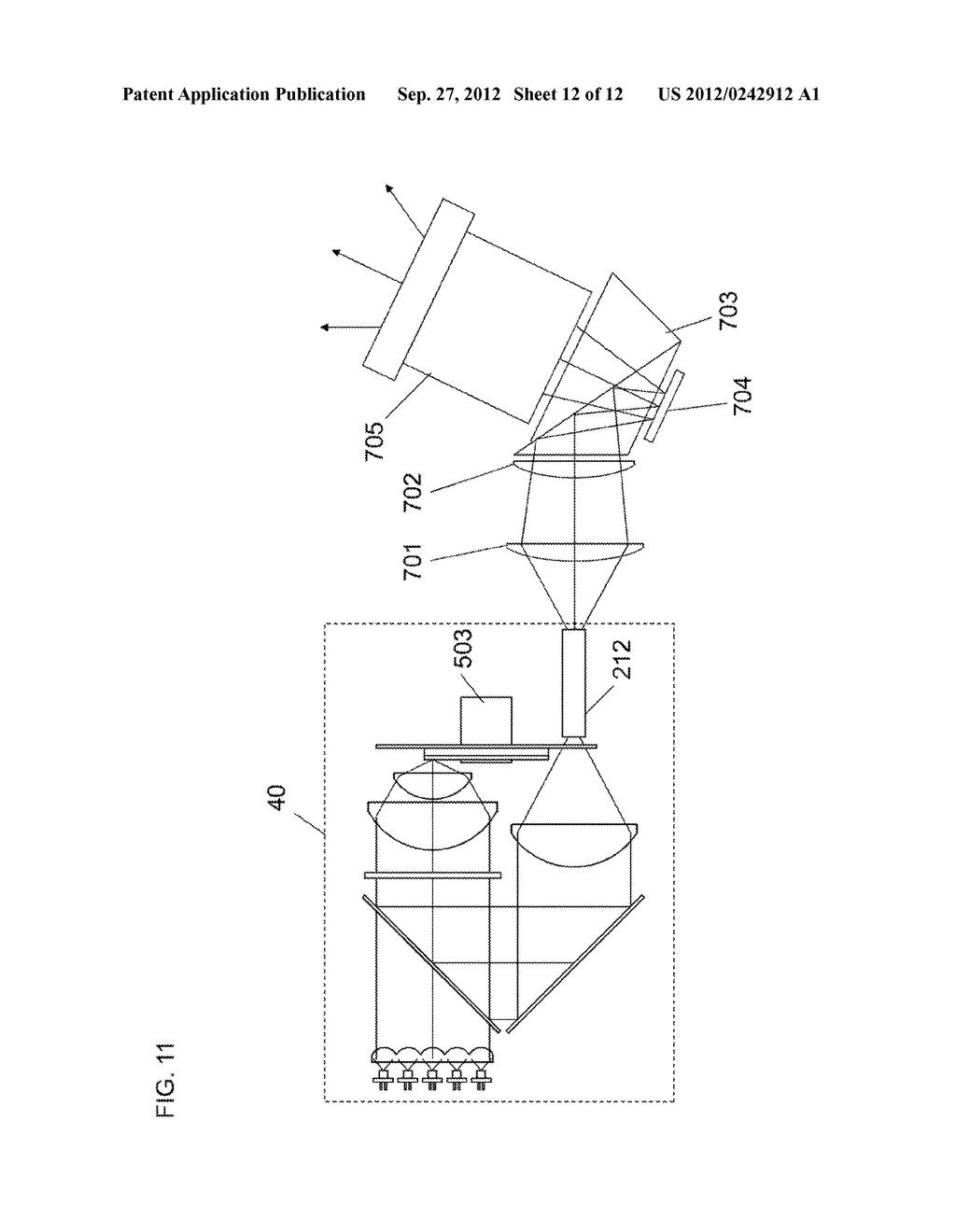 LIGHT SOURCE APPARATUS AND IMAGE DISPLAY APPARATUS USING THE SAME - diagram, schematic, and image 13