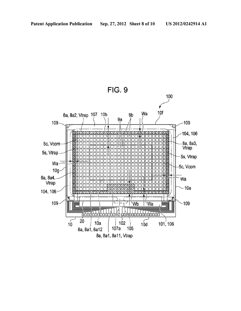 LIQUID CRYSTAL DEVICE AND PROJECTION-TYPE DISPLAY APPARATUS - diagram, schematic, and image 09