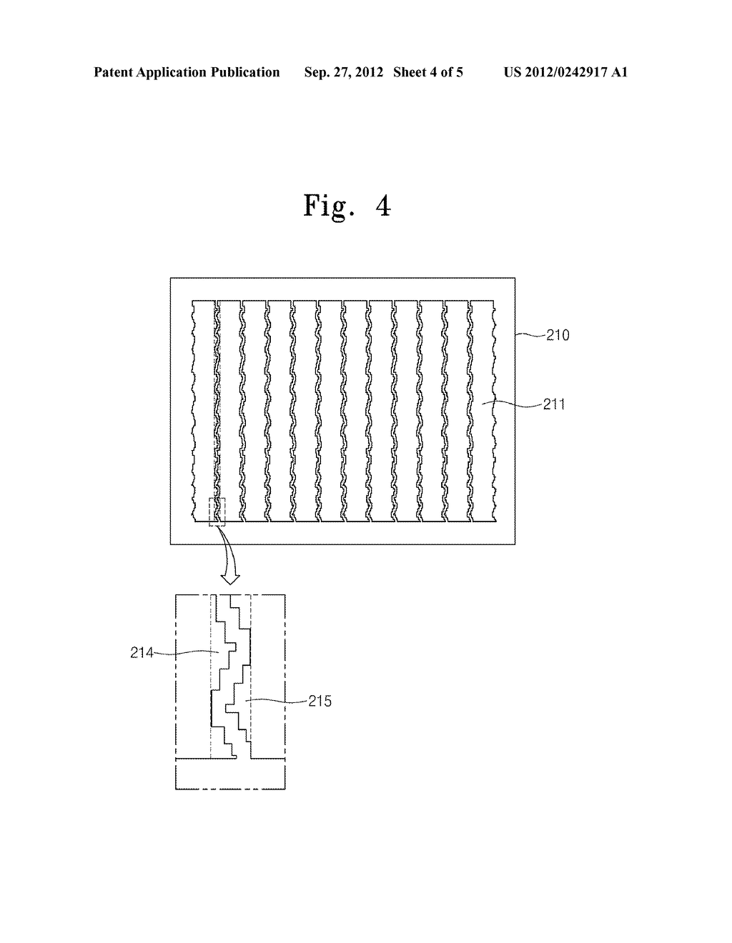 SHUTTER PANEL AND DISPLAY DEVICE INCLUDING THE SAME - diagram, schematic, and image 05