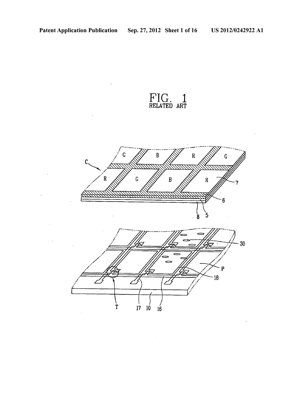 LIQUID CRYSTAL DISPLAY DEVICE AND FABRICATION METHOD THEREOF - diagram, schematic, and image 02