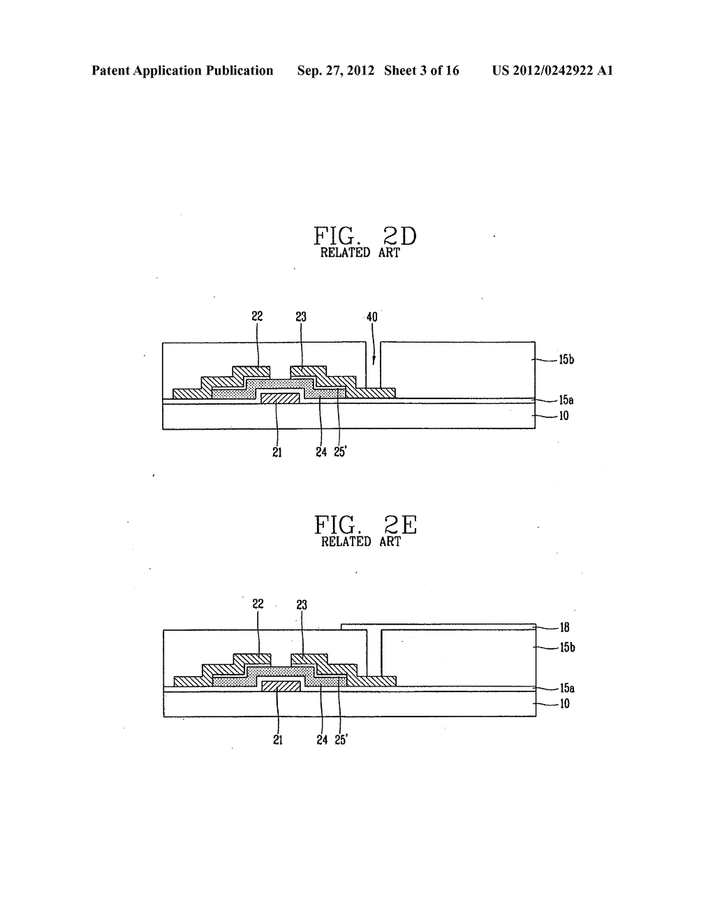 LIQUID CRYSTAL DISPLAY DEVICE AND FABRICATION METHOD THEREOF - diagram, schematic, and image 04