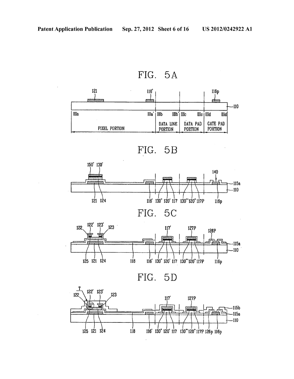 LIQUID CRYSTAL DISPLAY DEVICE AND FABRICATION METHOD THEREOF - diagram, schematic, and image 07