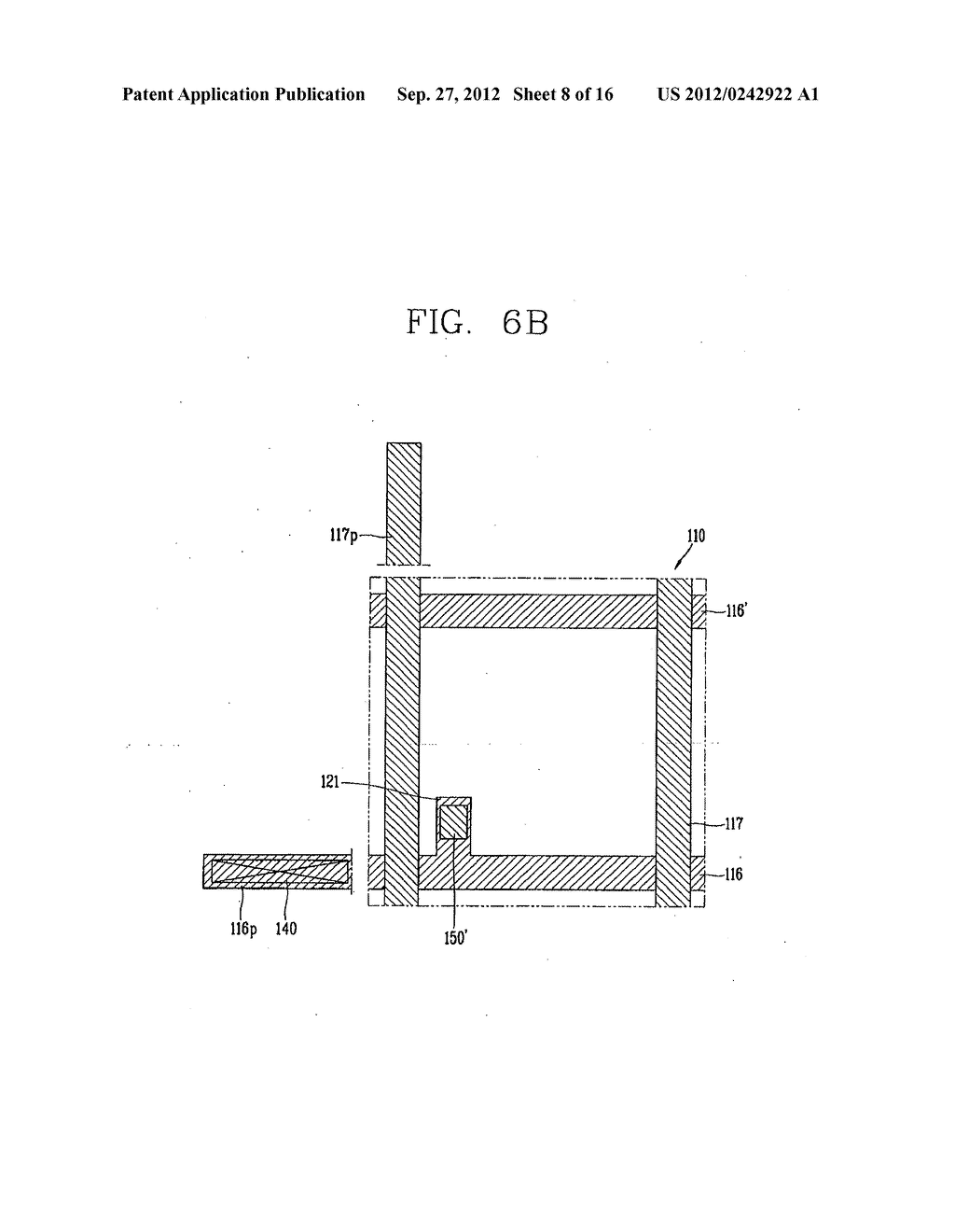 LIQUID CRYSTAL DISPLAY DEVICE AND FABRICATION METHOD THEREOF - diagram, schematic, and image 09
