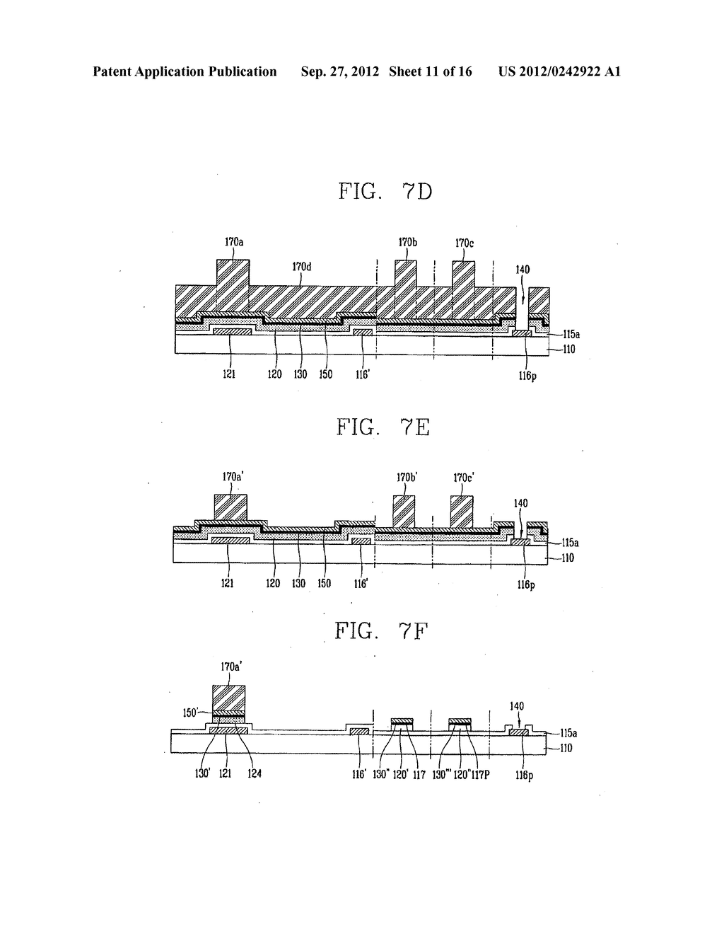 LIQUID CRYSTAL DISPLAY DEVICE AND FABRICATION METHOD THEREOF - diagram, schematic, and image 12