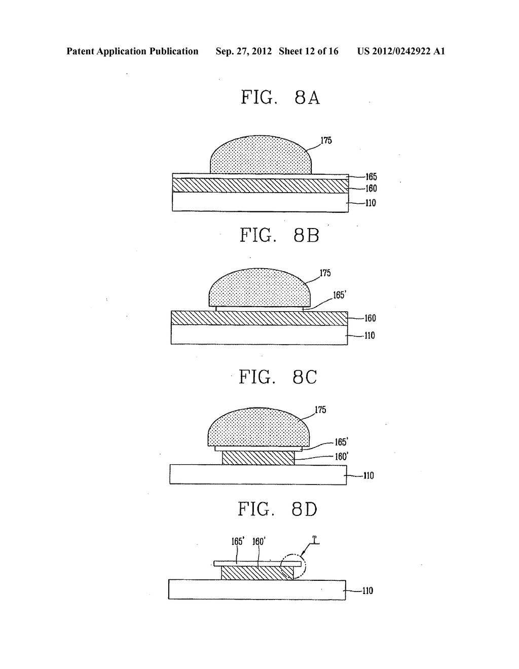 LIQUID CRYSTAL DISPLAY DEVICE AND FABRICATION METHOD THEREOF - diagram, schematic, and image 13