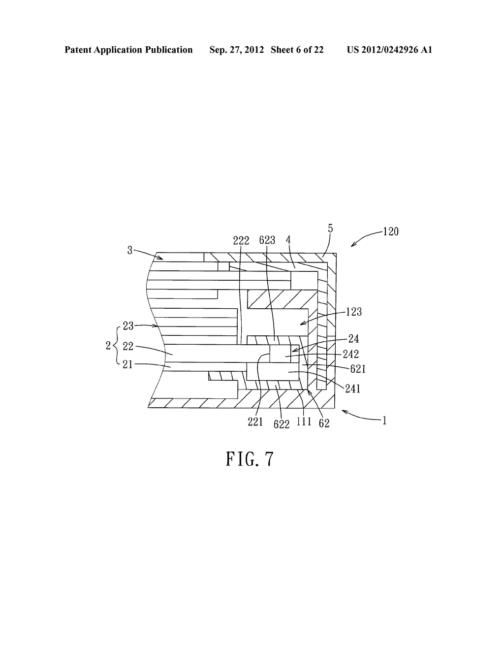 LIQUID CRYSTAL DISPLAY DEVICE AND ELECTRONIC EQUIPMENT HAVING THE SAME - diagram, schematic, and image 07