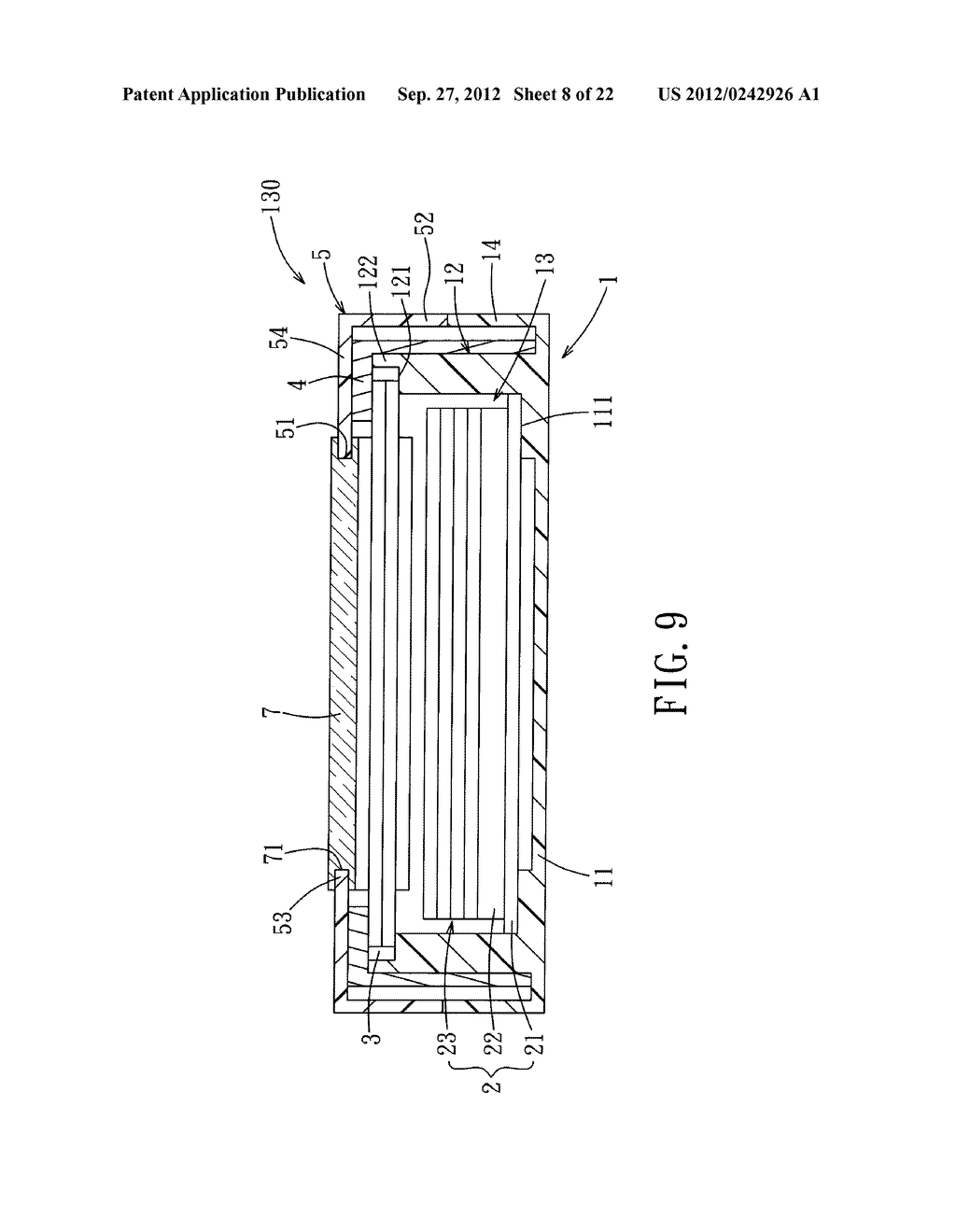 LIQUID CRYSTAL DISPLAY DEVICE AND ELECTRONIC EQUIPMENT HAVING THE SAME - diagram, schematic, and image 09