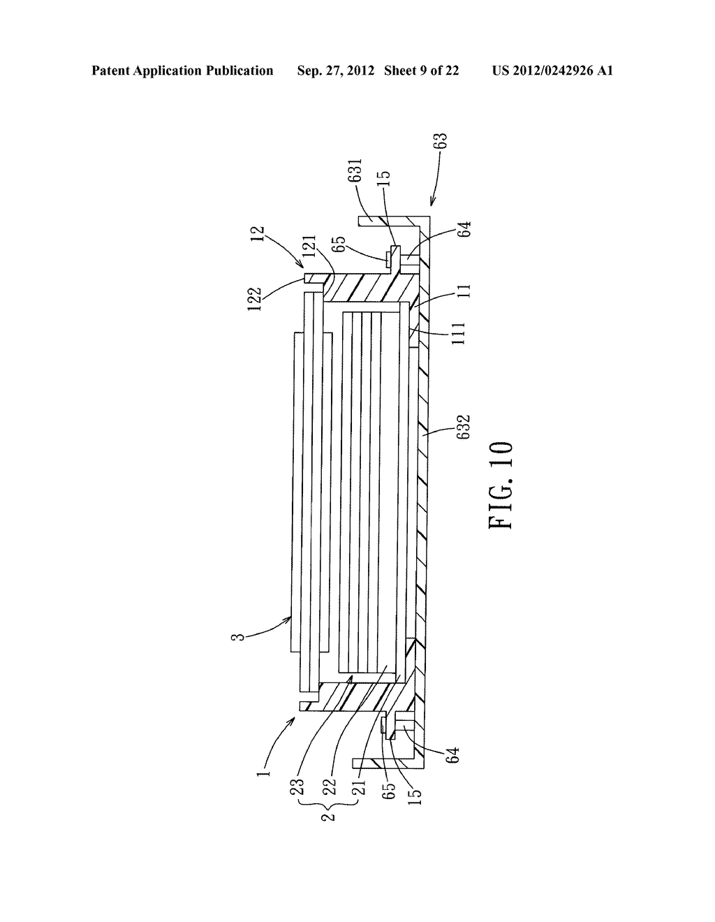 LIQUID CRYSTAL DISPLAY DEVICE AND ELECTRONIC EQUIPMENT HAVING THE SAME - diagram, schematic, and image 10