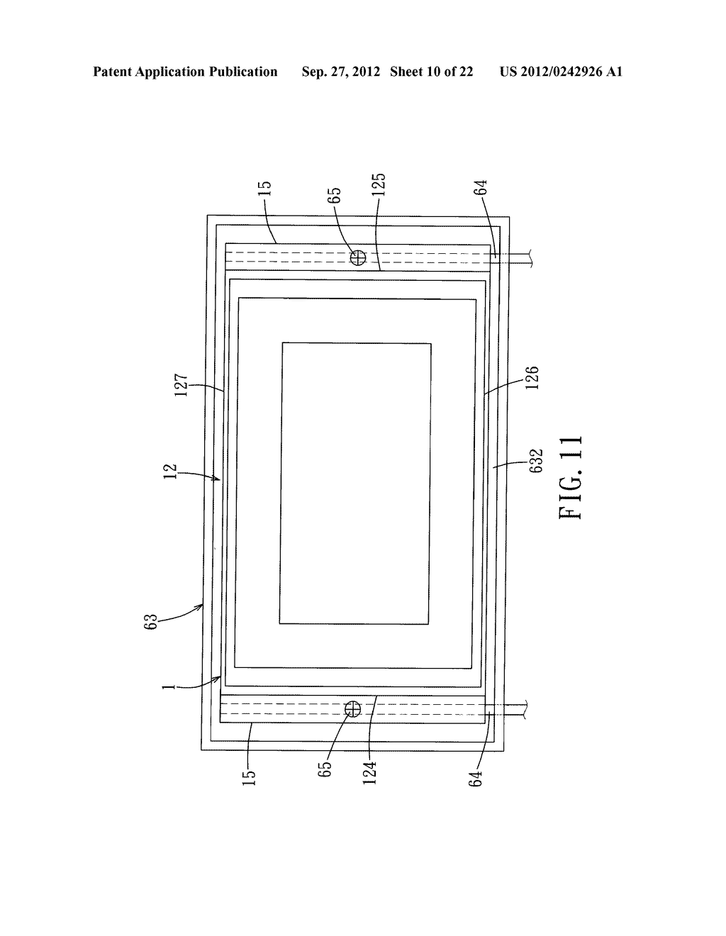 LIQUID CRYSTAL DISPLAY DEVICE AND ELECTRONIC EQUIPMENT HAVING THE SAME - diagram, schematic, and image 11