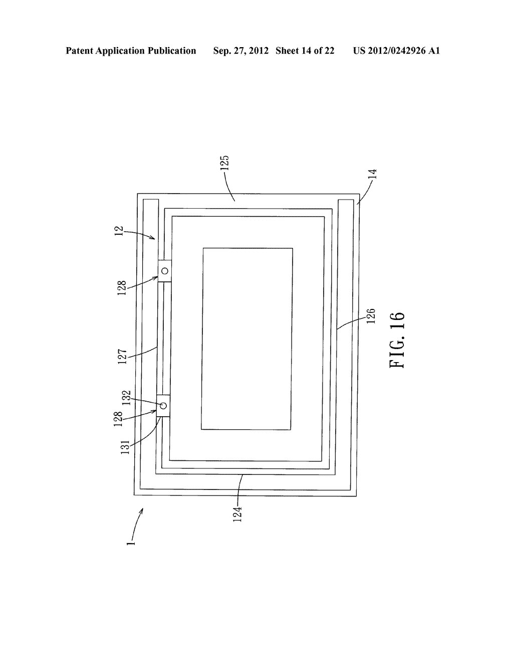 LIQUID CRYSTAL DISPLAY DEVICE AND ELECTRONIC EQUIPMENT HAVING THE SAME - diagram, schematic, and image 15