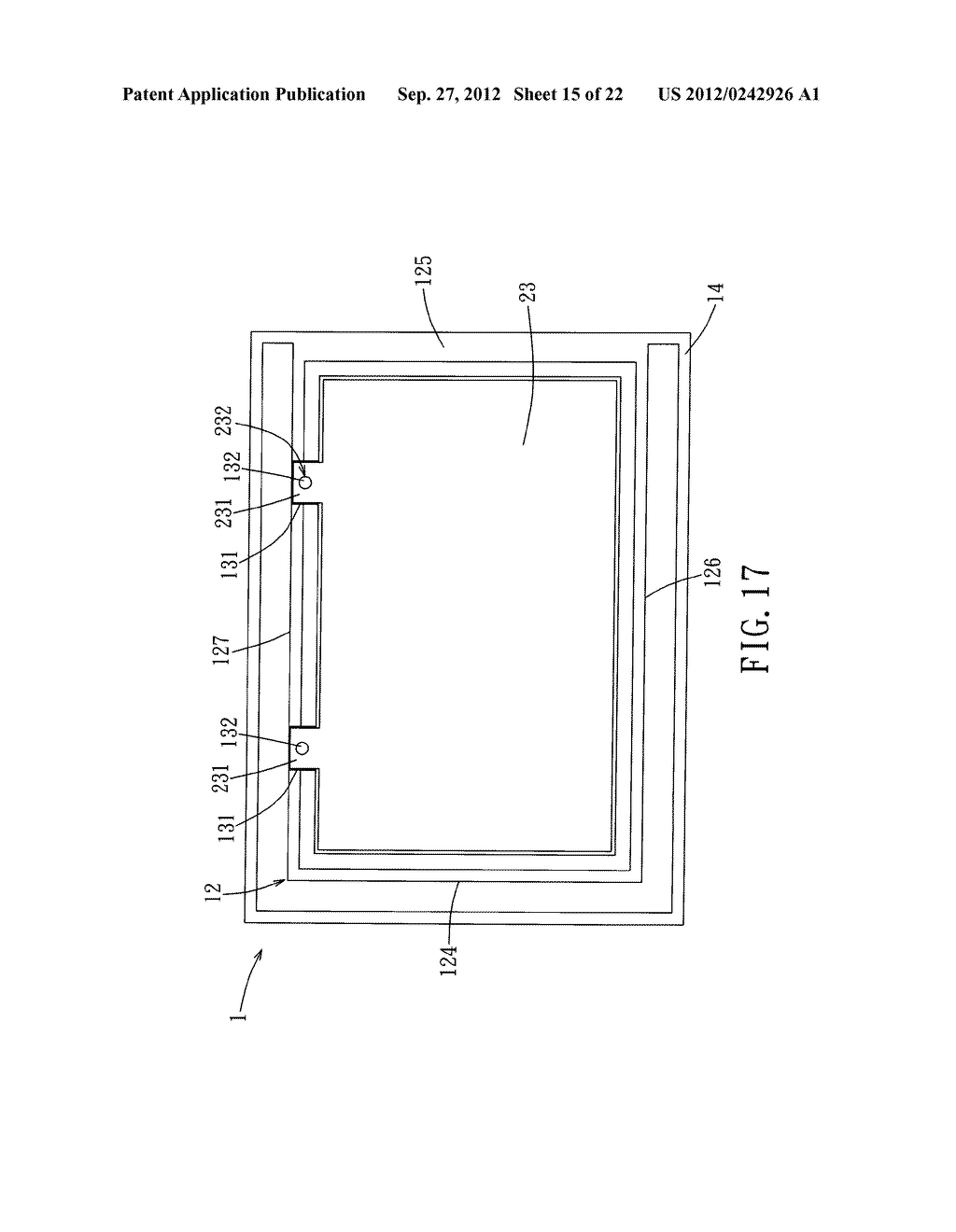 LIQUID CRYSTAL DISPLAY DEVICE AND ELECTRONIC EQUIPMENT HAVING THE SAME - diagram, schematic, and image 16