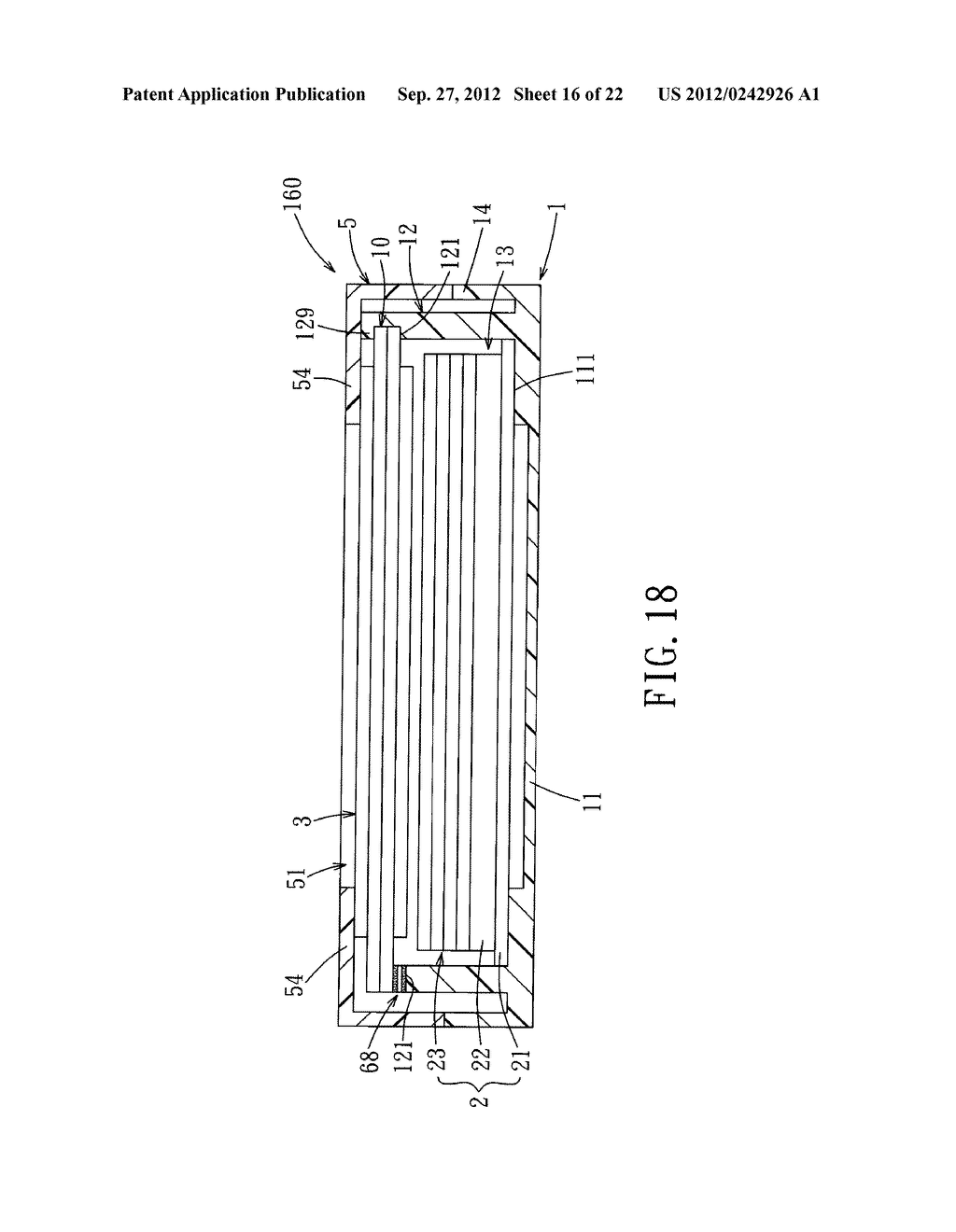 LIQUID CRYSTAL DISPLAY DEVICE AND ELECTRONIC EQUIPMENT HAVING THE SAME - diagram, schematic, and image 17
