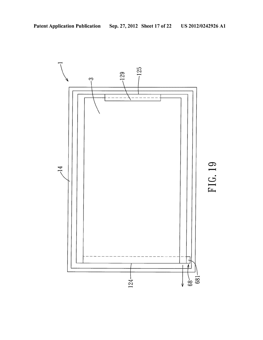 LIQUID CRYSTAL DISPLAY DEVICE AND ELECTRONIC EQUIPMENT HAVING THE SAME - diagram, schematic, and image 18
