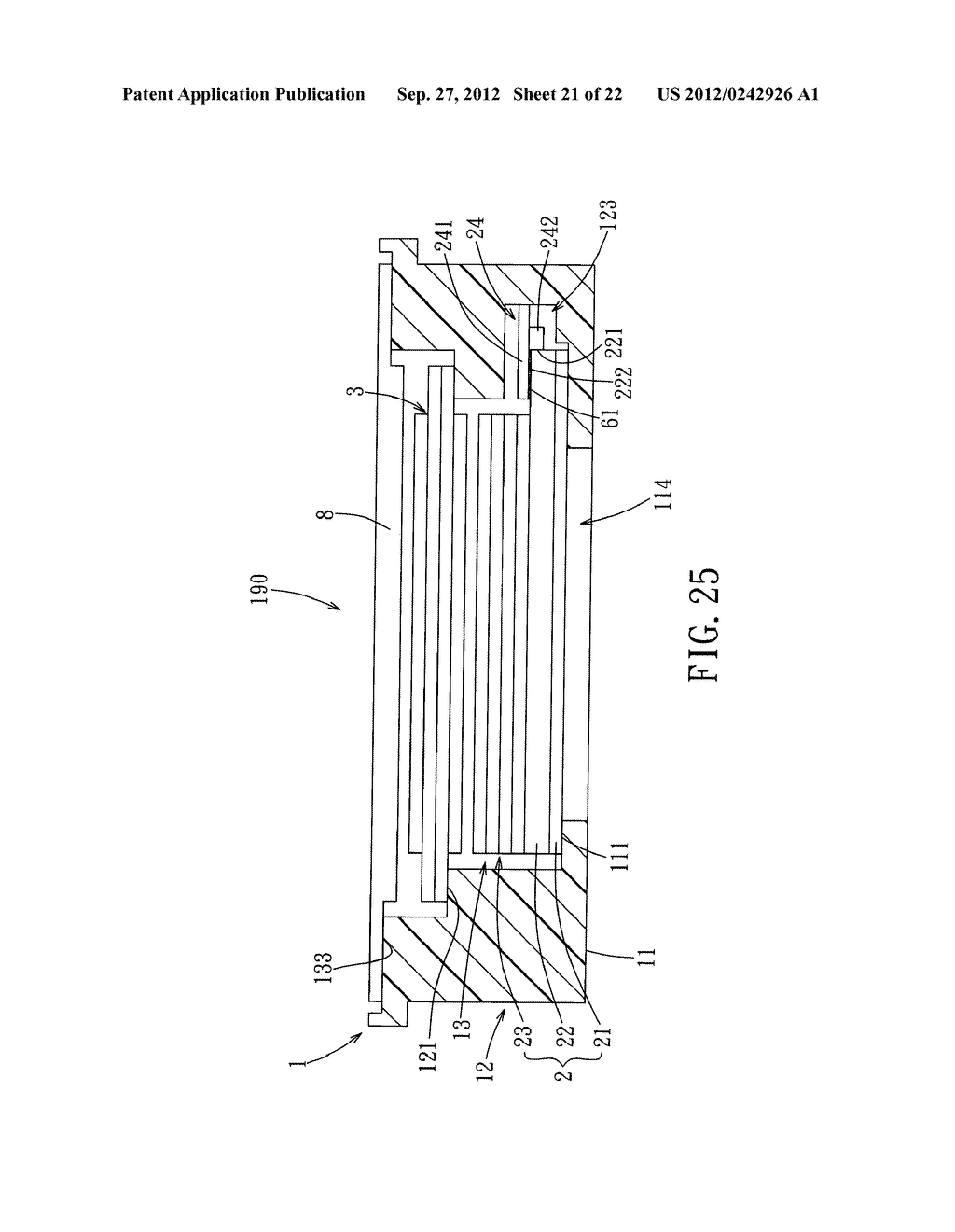 LIQUID CRYSTAL DISPLAY DEVICE AND ELECTRONIC EQUIPMENT HAVING THE SAME - diagram, schematic, and image 22