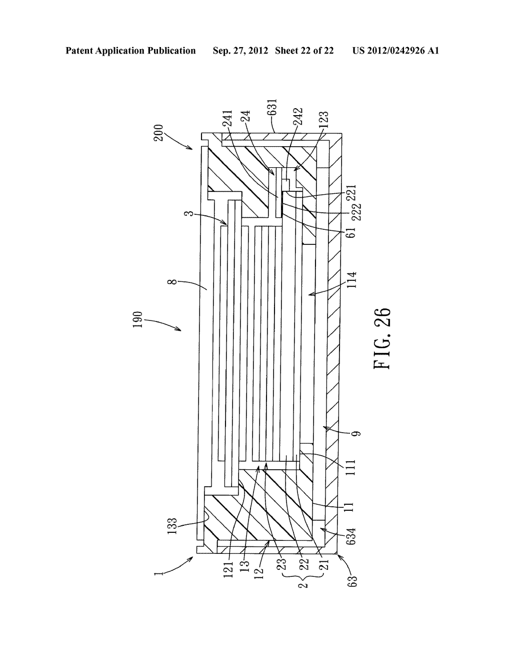 LIQUID CRYSTAL DISPLAY DEVICE AND ELECTRONIC EQUIPMENT HAVING THE SAME - diagram, schematic, and image 23