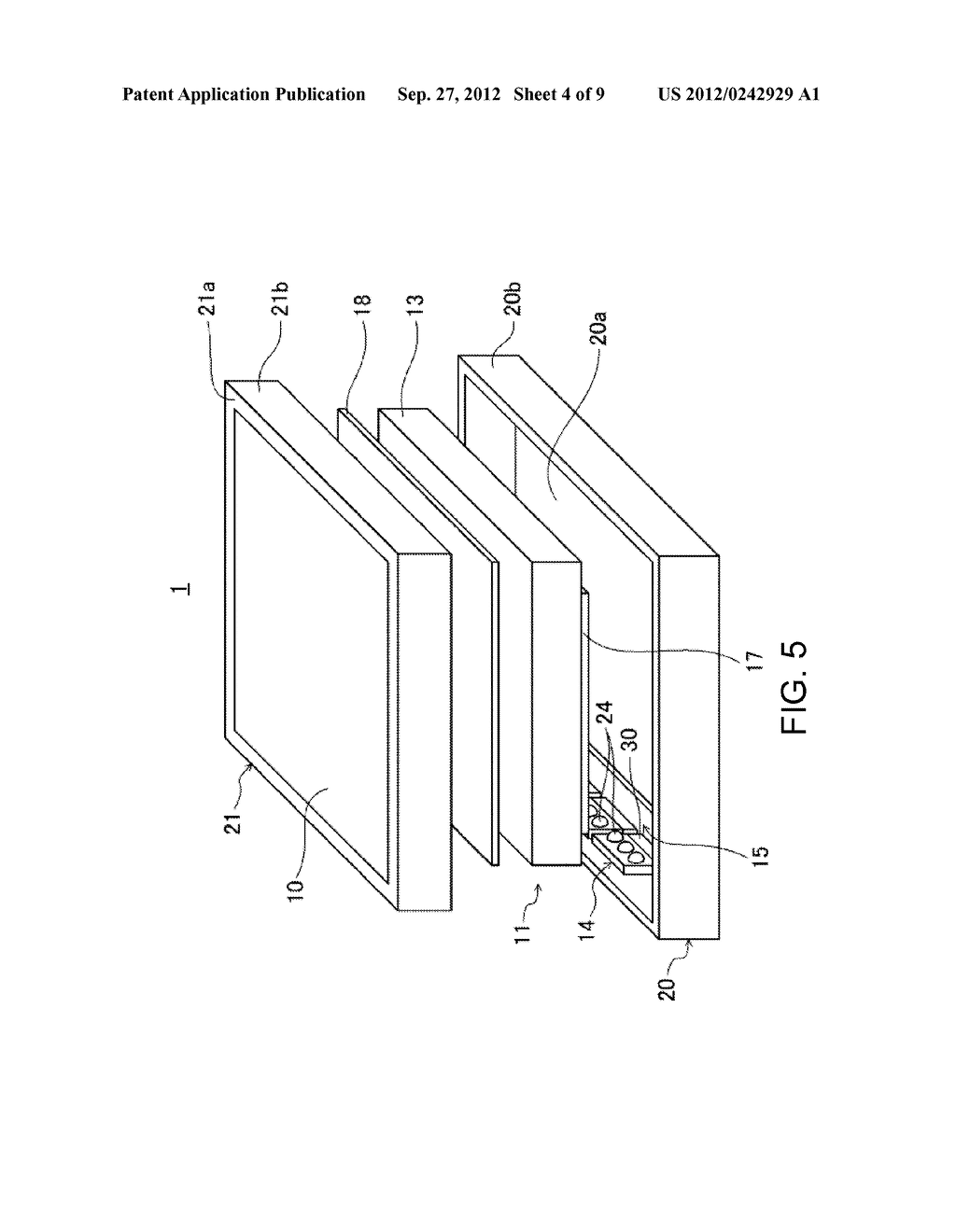 LIGHTING APPARATUS AND LIQUID CRYSTAL DISPLAY COMPRISING SAME - diagram, schematic, and image 05