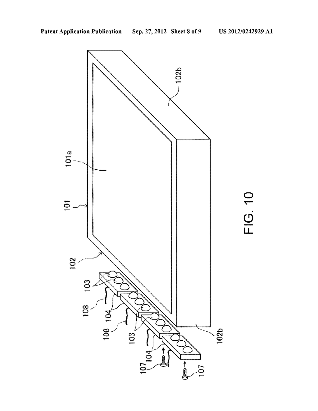 LIGHTING APPARATUS AND LIQUID CRYSTAL DISPLAY COMPRISING SAME - diagram, schematic, and image 09