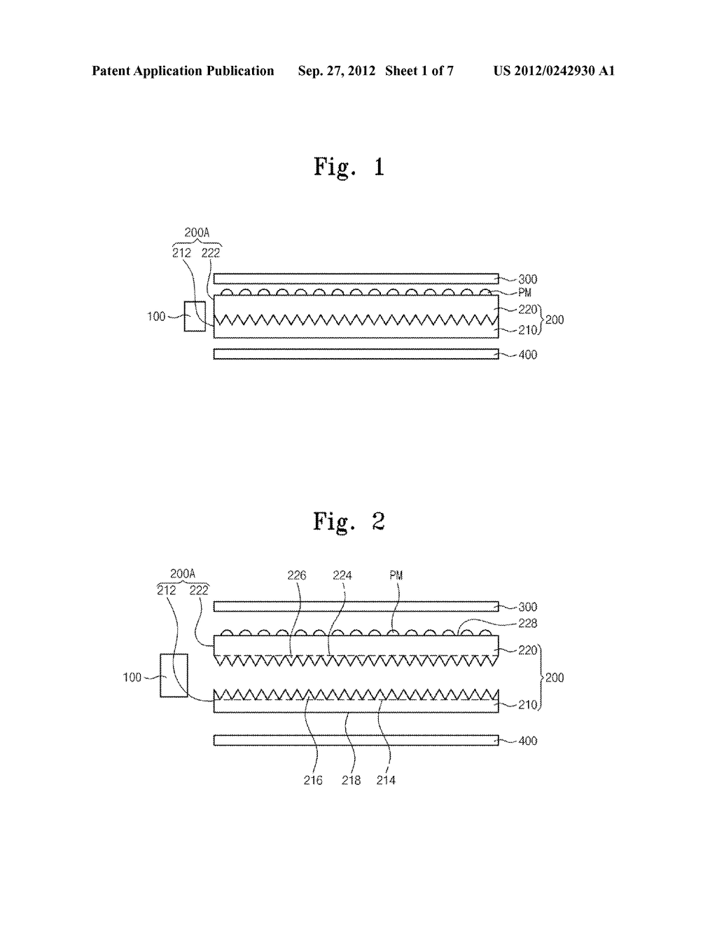 BACKLIGHT UNIT AND DISPLAY DEVICE HAVING THE SAME - diagram, schematic, and image 02