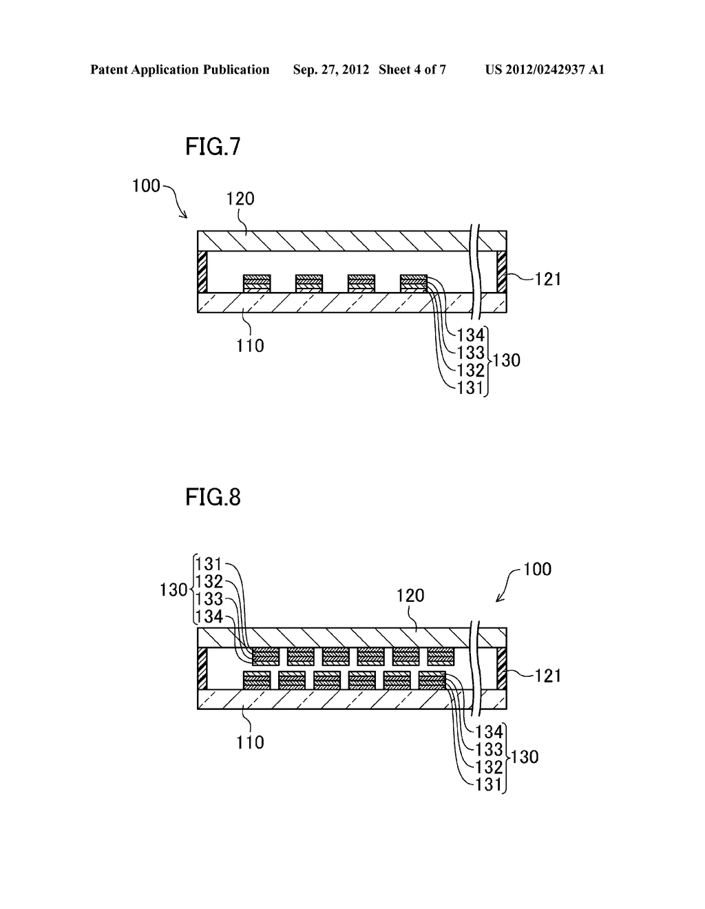 ELECTRO-OPTIC DEVICE AND METHOD FOR MANUFACTURING SAME - diagram, schematic, and image 05