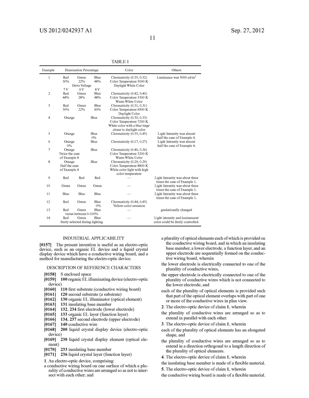 ELECTRO-OPTIC DEVICE AND METHOD FOR MANUFACTURING SAME - diagram, schematic, and image 19