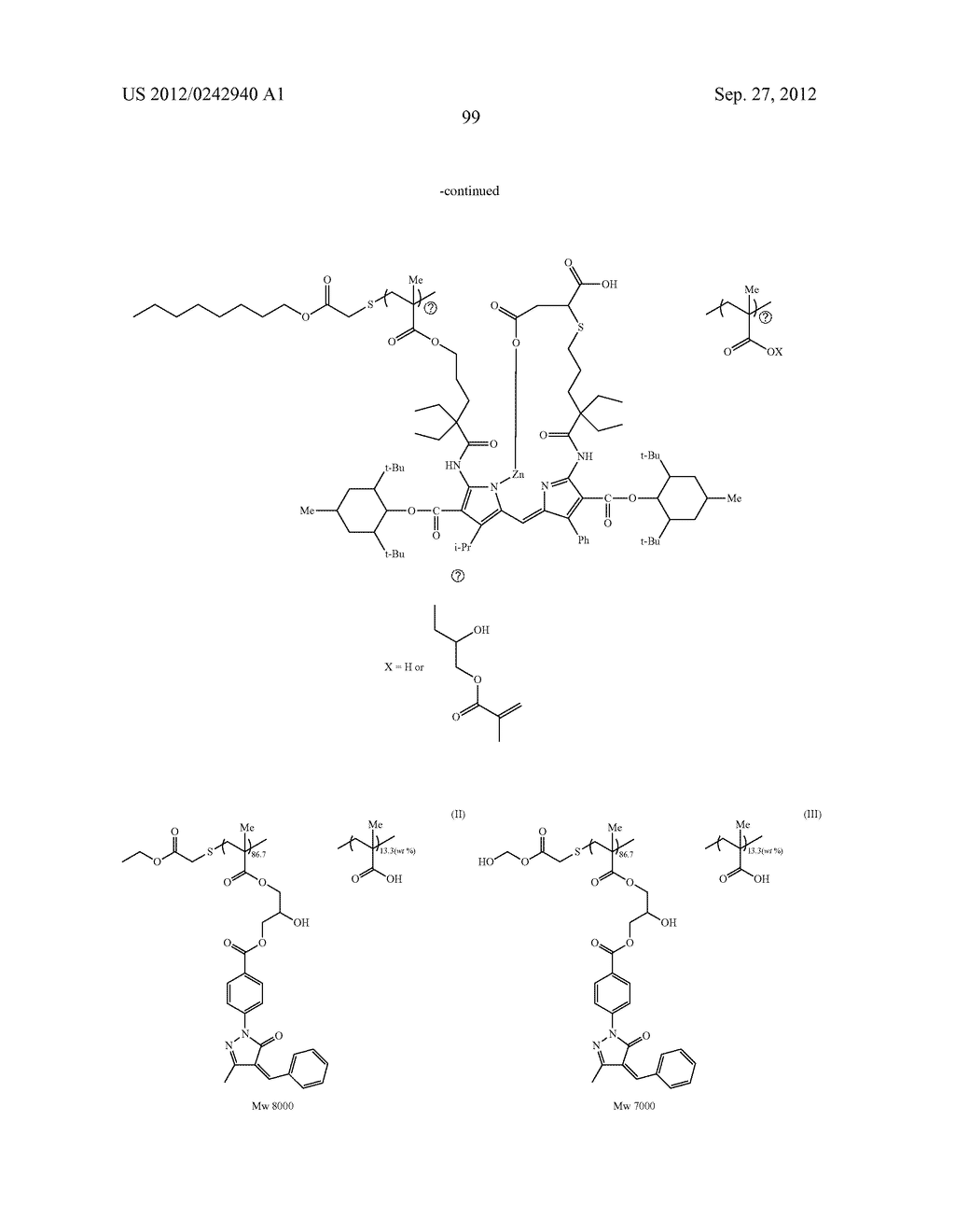RADIATION-SENSITIVE COLORED COMPOSITION, COLOR FILTER, METHOD FOR     PRODUCING A COLOR PATTERN, METHOD FOR PRODUCING COLOR FILTER, SOLID-STATE     IMAGING DEVICE, AND LIQUID CRYSTAL DISPLAY APPARATUS - diagram, schematic, and image 100
