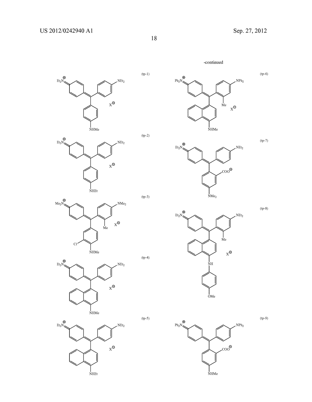RADIATION-SENSITIVE COLORED COMPOSITION, COLOR FILTER, METHOD FOR     PRODUCING A COLOR PATTERN, METHOD FOR PRODUCING COLOR FILTER, SOLID-STATE     IMAGING DEVICE, AND LIQUID CRYSTAL DISPLAY APPARATUS - diagram, schematic, and image 19