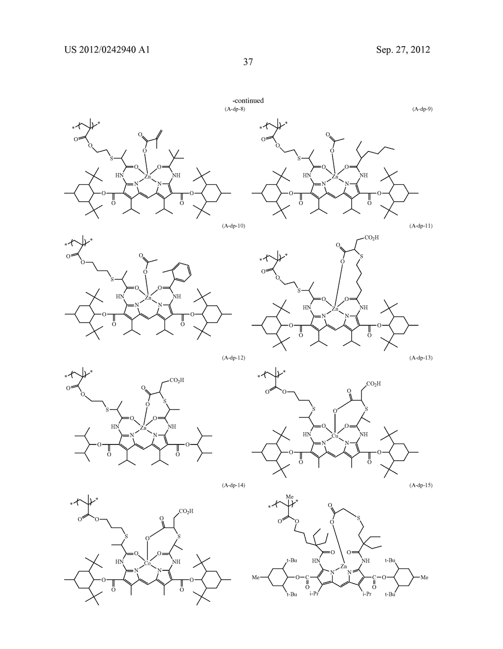 RADIATION-SENSITIVE COLORED COMPOSITION, COLOR FILTER, METHOD FOR     PRODUCING A COLOR PATTERN, METHOD FOR PRODUCING COLOR FILTER, SOLID-STATE     IMAGING DEVICE, AND LIQUID CRYSTAL DISPLAY APPARATUS - diagram, schematic, and image 38
