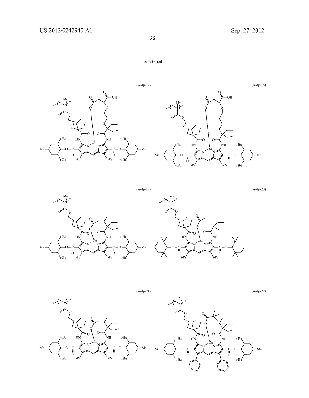 RADIATION-SENSITIVE COLORED COMPOSITION, COLOR FILTER, METHOD FOR     PRODUCING A COLOR PATTERN, METHOD FOR PRODUCING COLOR FILTER, SOLID-STATE     IMAGING DEVICE, AND LIQUID CRYSTAL DISPLAY APPARATUS - diagram, schematic, and image 39