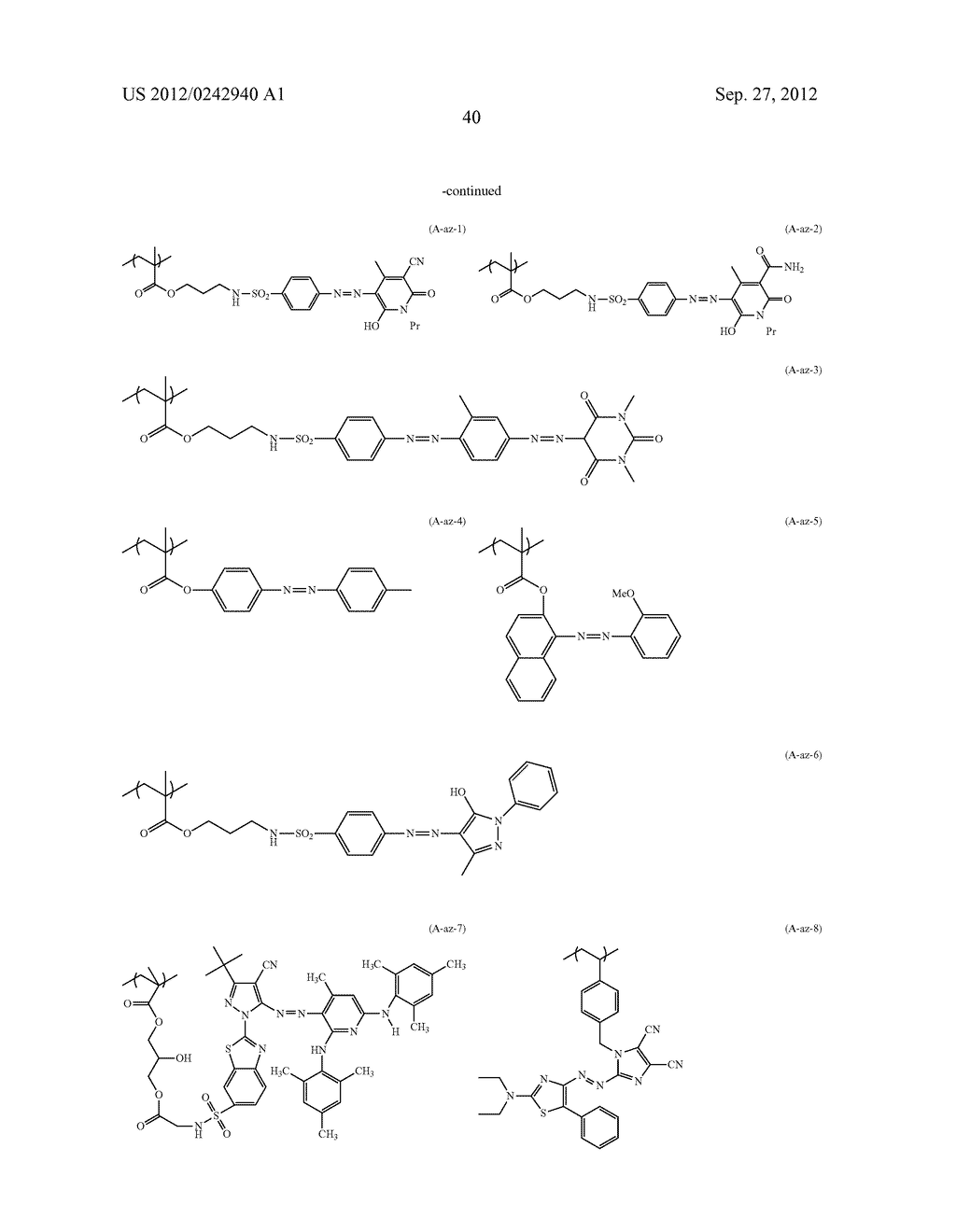 RADIATION-SENSITIVE COLORED COMPOSITION, COLOR FILTER, METHOD FOR     PRODUCING A COLOR PATTERN, METHOD FOR PRODUCING COLOR FILTER, SOLID-STATE     IMAGING DEVICE, AND LIQUID CRYSTAL DISPLAY APPARATUS - diagram, schematic, and image 41