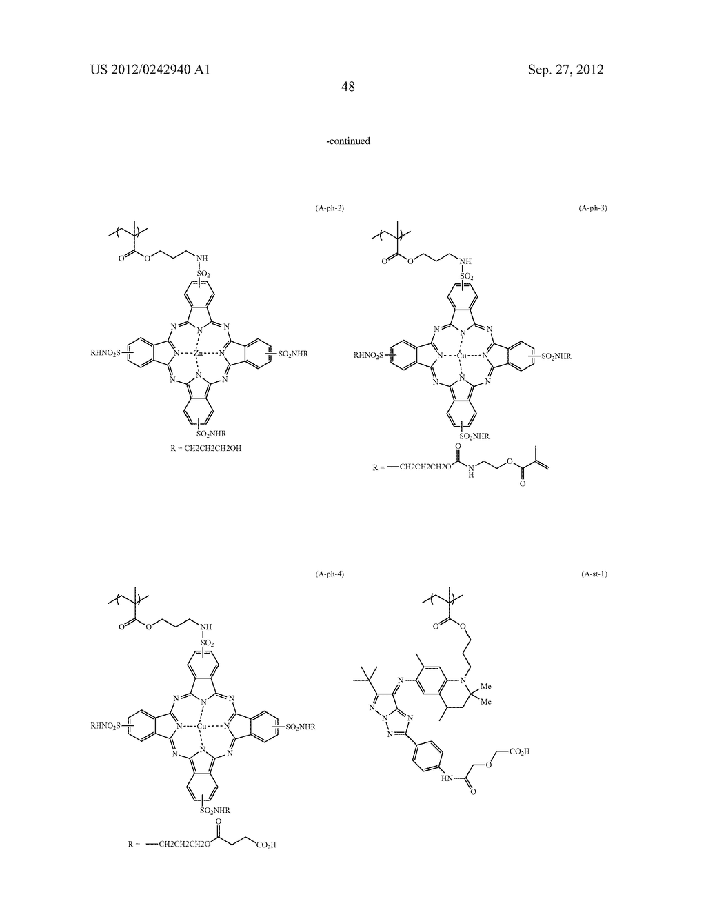 RADIATION-SENSITIVE COLORED COMPOSITION, COLOR FILTER, METHOD FOR     PRODUCING A COLOR PATTERN, METHOD FOR PRODUCING COLOR FILTER, SOLID-STATE     IMAGING DEVICE, AND LIQUID CRYSTAL DISPLAY APPARATUS - diagram, schematic, and image 49