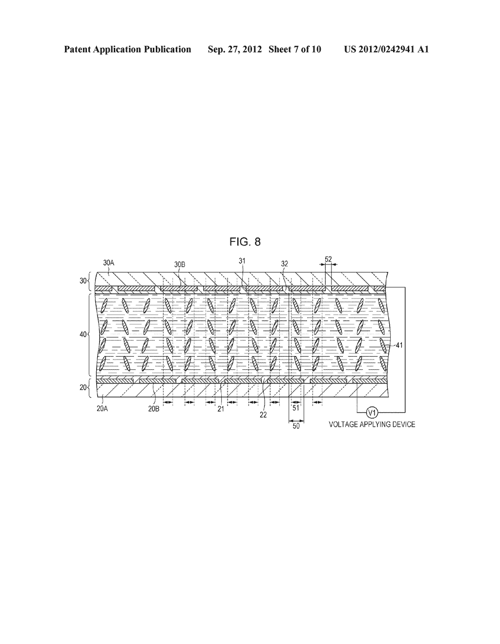 LIQUID CRYSTAL DISPLAY DEVICE AND METHOD FOR MANUFACTURING THE SAME - diagram, schematic, and image 08